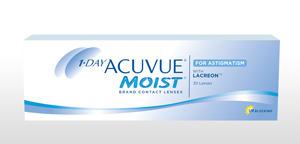 Confezione di 1-DAY ACUVUE® MOIST for ASTIGMATISM